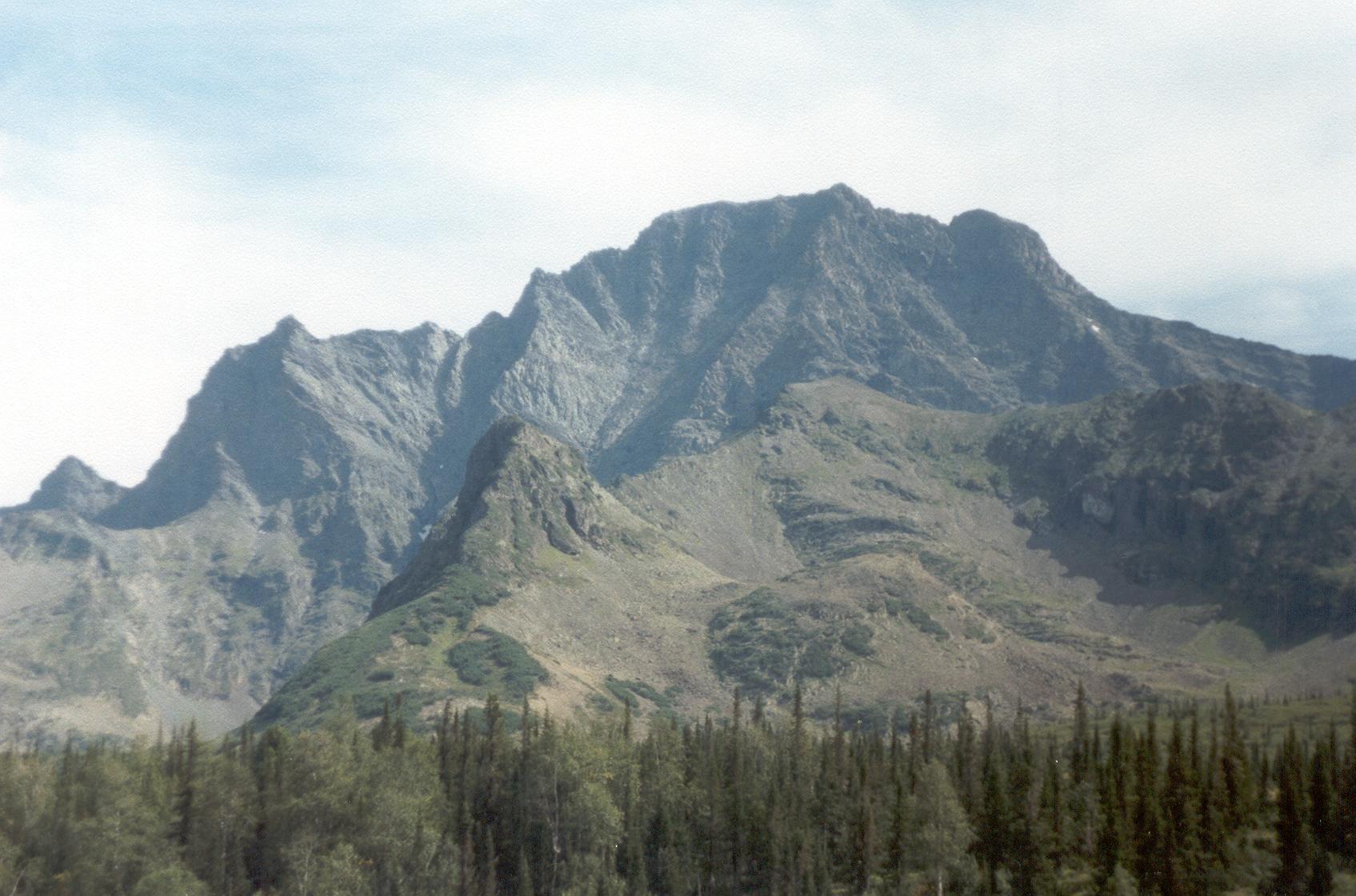 photos : Baical2002 : png : chersky mountain 2 Mountain